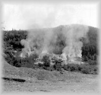 Burning the Cariboo Gold Quartz Mine, PABC HP092719