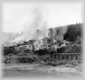 The Cariboo Gold Quartz Mine burning down, wp793